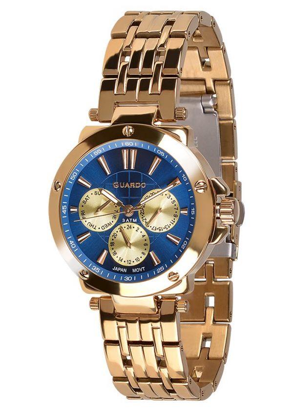 Zegarek Damski Guardo Premium 11463-4 na bransolecie