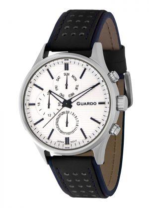 Zegarek Męski Guardo Premium 11647-1 na pasku
