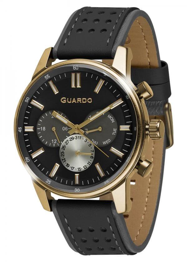Zegarek Guardo 007576-1 Złoty