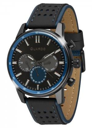 Zegarek Guardo 007576-3 Czarny