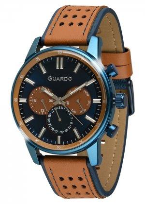 Zegarek Guardo 007576-4 Niebieski