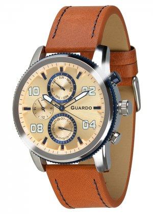 Zegarek Guardo 011097(1)-2 Srebrny