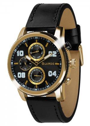 Zegarek Guardo 011097(1)-3 Złoty