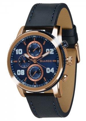Zegarek Guardo 011097(1)-4 Różowe Złoto