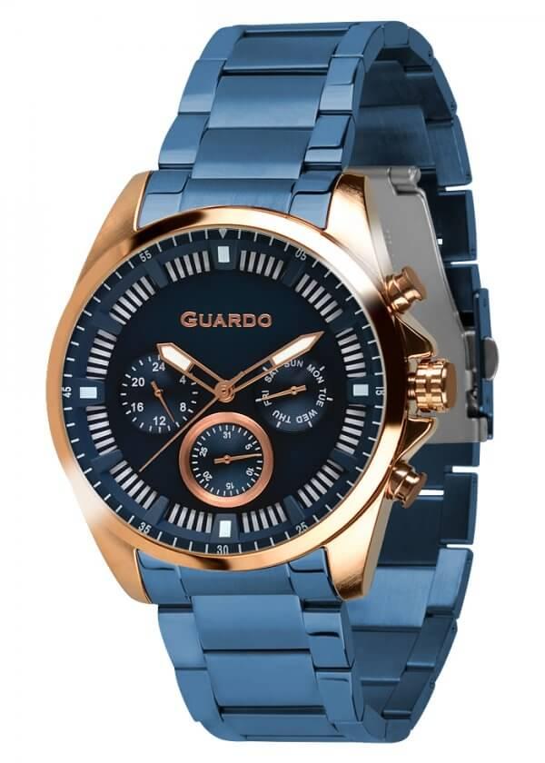 Zegarek Guardo 011123-4 Różowe Złoto