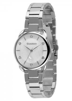 Zegarek Guardo 011148-2 Srebrny