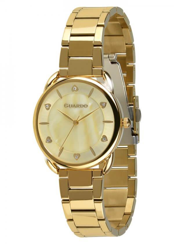 Zegarek Guardo 011148-3 Złoty