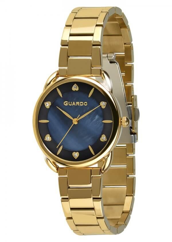 Zegarek Guardo 011148-4 Złoty
