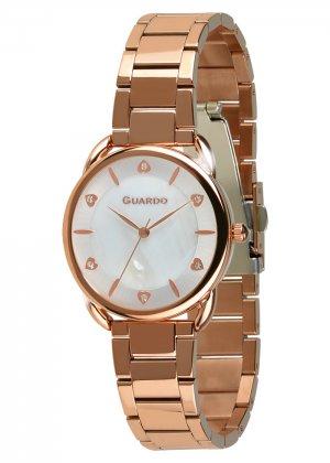 Zegarek Guardo 011148-5 Różowe Złoto