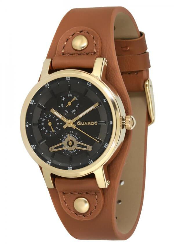 Zegarek Guardo 011265(1)-3 Złoty