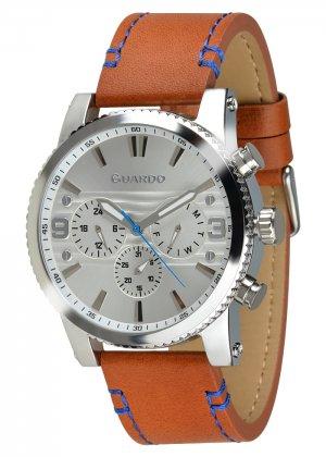 Zegarek Guardo 011401-1 Srebrny