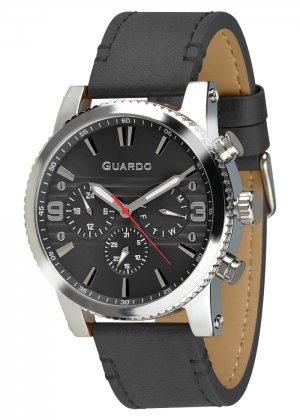 Zegarek Guardo 011401-3 Srebrny