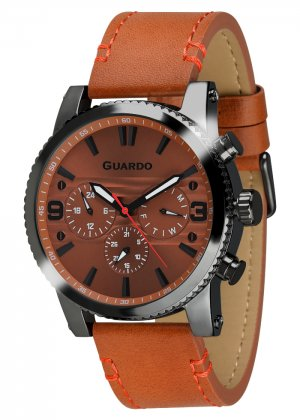 Zegarek Guardo 011401-5 Czarny