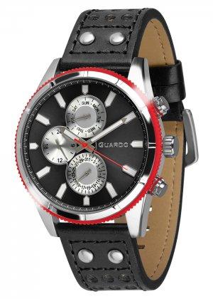 Zegarek Guardo 011447-1 Srebrny