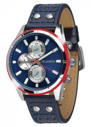 Zegarek Guardo 011447-3 Srebrny