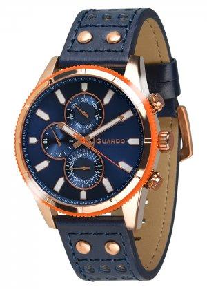 Zegarek Guardo 011447-5 Różowe Złoto