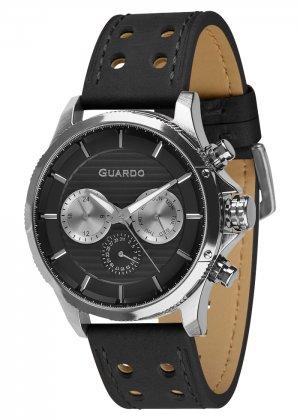 Zegarek Guardo 011456-1 Srebrny