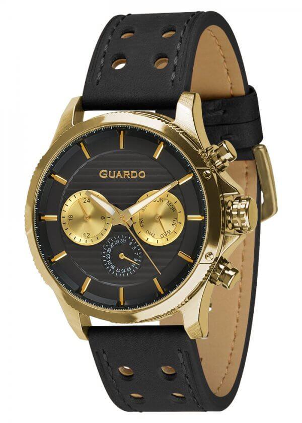 Zegarek Guardo 011456-3 Złoty