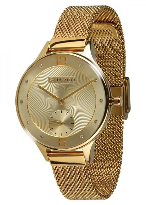 Zegarek Guardo 011636(1)-3 Złoty