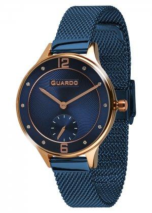 Zegarek Guardo 011636(1)-4 Różowe Złoto