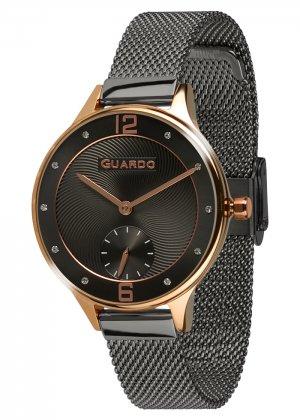 Zegarek Guardo 011636(1)-5 Różowe Złoto