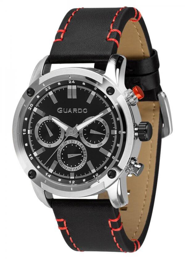 Zegarek Guardo 011645-1 Srebrny