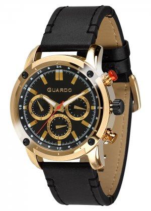 Zegarek Guardo 011645-2 Złoty