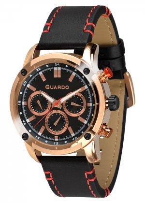 Zegarek Guardo 011645-4 Różowe Złoto
