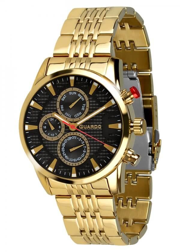 Zegarek Guardo 011653-4 Złoty