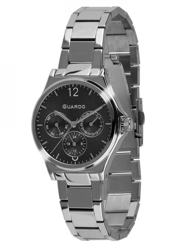 Zegarek Guardo 011755-1 Srebrny