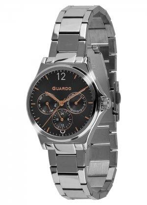 Zegarek Guardo 011755-2 Srebrny