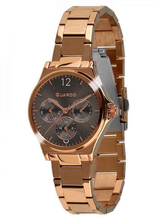 Zegarek Guardo 011755-5 Różowe Złoto