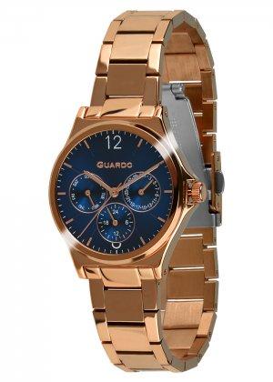 Zegarek Guardo 011755-6 Różowe Złoto