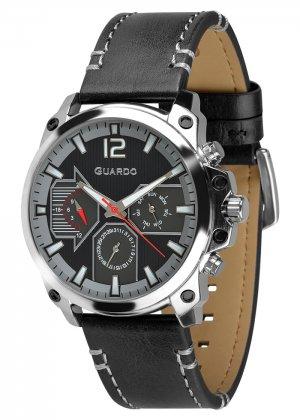 Zegarek Guardo 011998-1 Srebrny