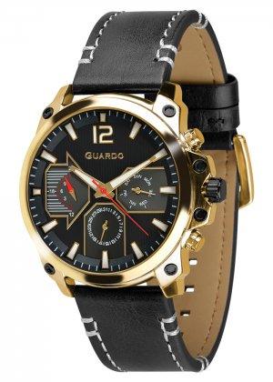 Zegarek Guardo 011998-3 Złoty