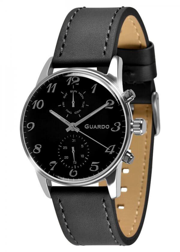 Zegarek Guardo 012009(3)-1 Srebrny