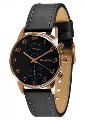 Zegarek Guardo 012009(3)-3 Różowe Złoto