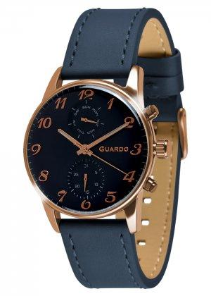 Zegarek Guardo 012009(3)-4 Różowe Złoto