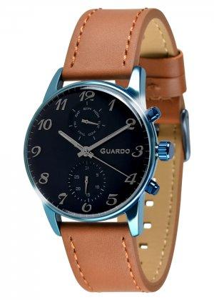 Zegarek Guardo 012009(3)-5 Niebieski