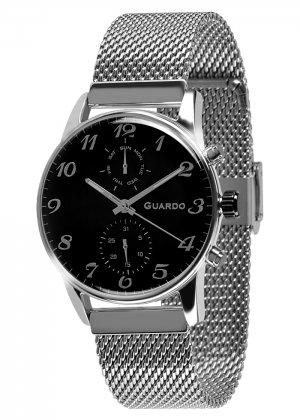 Zegarek Guardo 012009(4)-1 Srebrny