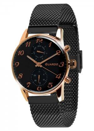 Zegarek Guardo 012009(4)-3 Różowe Złoto
