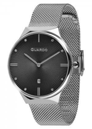Zegarek Guardo 012473(1)-1 Srebrny