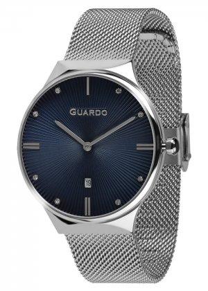 Zegarek Guardo 012473(1)-2 Srebrny
