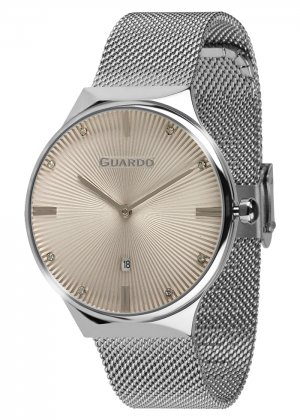 Zegarek Guardo 012473(1)-3 Srebrny