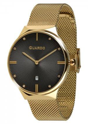 Zegarek Guardo 012473(1)-4 Złoty