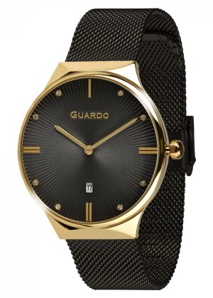 Zegarek Guardo 012473(1)-5 Złoty