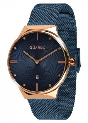 Zegarek Guardo 012473(1)-6 Różowe Złoto