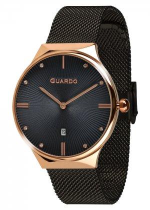Zegarek Guardo 012473(1)-7 Różowe Złoto