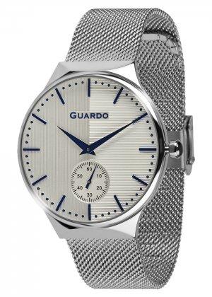 Zegarek Guardo 012473(2)-2 Srebrny