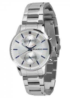 Zegarek Guardo B01068-1 Srebrny